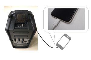 800MHz帯ワイヤレスマイク付きスピーカーセット GPA-670DU マイク2本付き