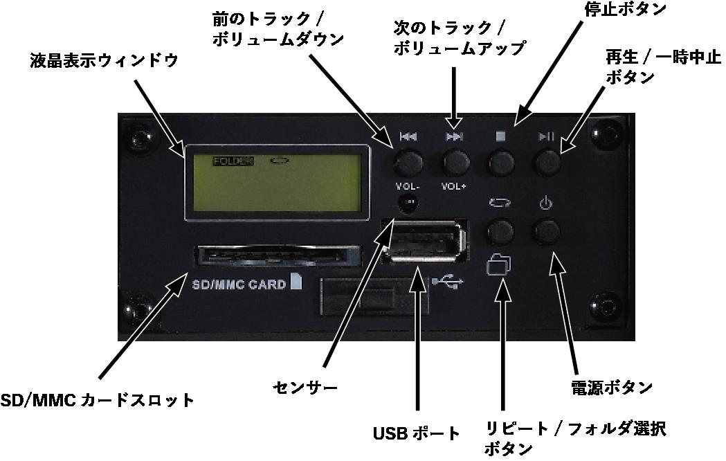 デジタルオーディオプレーヤーの画像